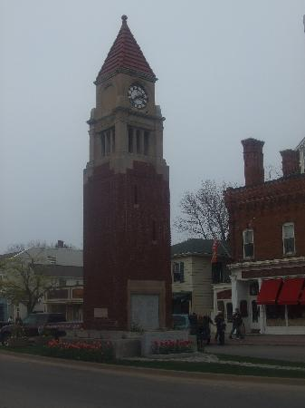 Clock tower in the town of NOTL