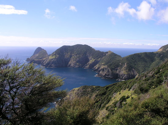 Bay of Islands, Selandia Baru: Cape Brett