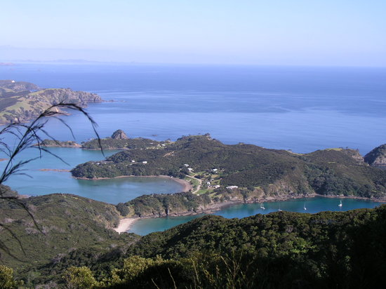 Bay of Islands, Yeni Zelanda: Oke Bay and Rawhiti village