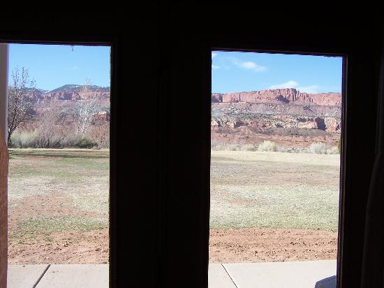 Capitol Reef Resort: View From Room