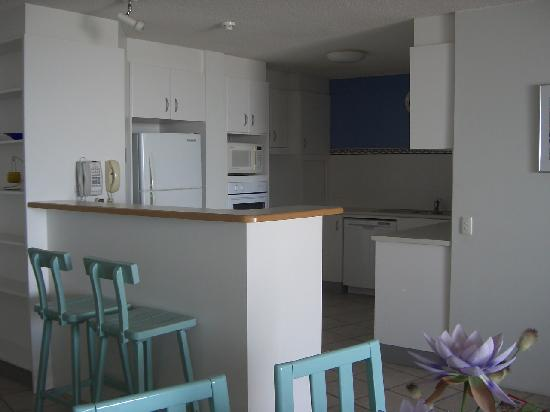 Gemini Resort: Unit 78 Kitchen area