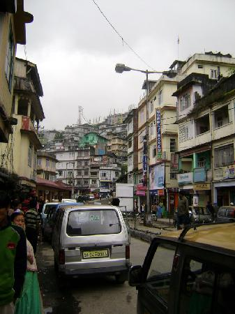 Gangtok, Inde : a busy center