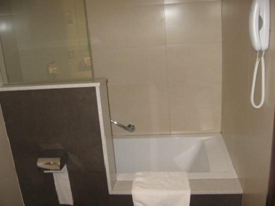 Hotel Rios : Bañera