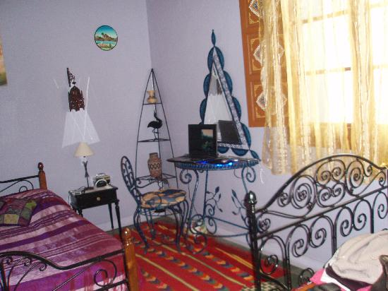 Riad Le Mazagao : chambre zagora