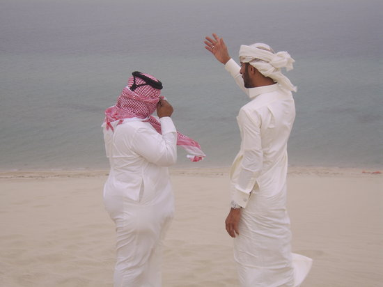 ‪الدوحة, قطر: our fab drivers on the dunes‬