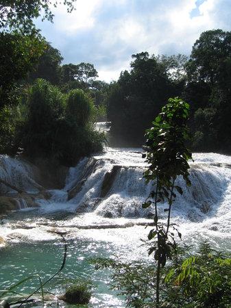 Palenque, Mexiko: Agua Azul, January'08