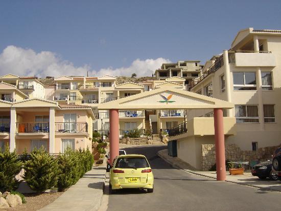 Paradise Kings Club: resort entrance