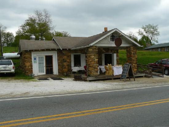 Stone House Market - used to be a gas station