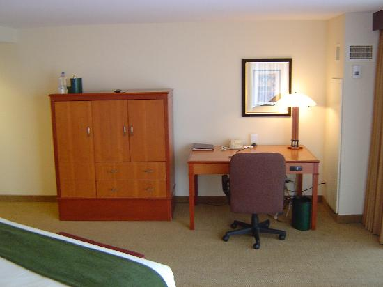 Eaglewood Resort & Spa: View of my room