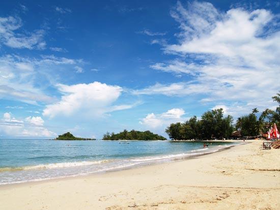 Bay Beach Resort: choeng mon beach