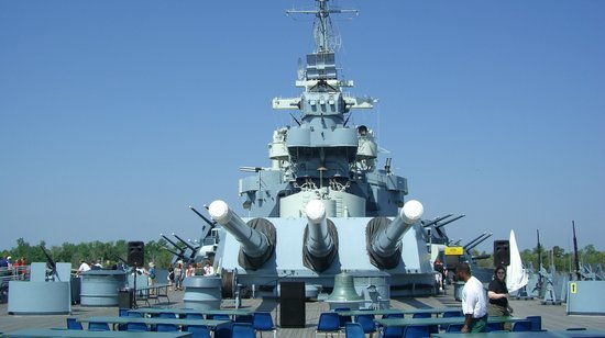 Battleship NORTH CAROLINA: Old and Stately Ship