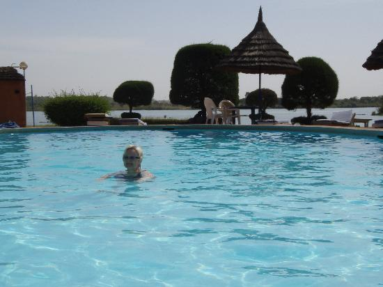 Hotel Mande: the pool