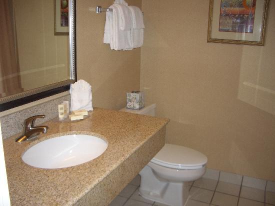 Courtyard Hartford Cromwell: bathroom