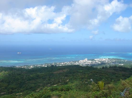 Pacific Islands Club Saipan: View from Tapachao mountain