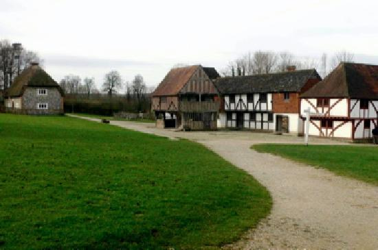 Weald & Downland Living Museum : Medieval market; other 14th C. Buildings