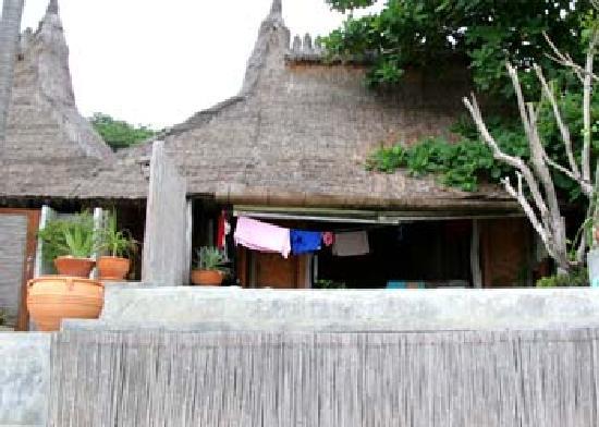 Khirana Villas: Villa from the beach
