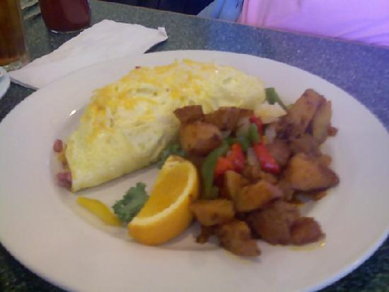 Egg River Cafe : great potatoes