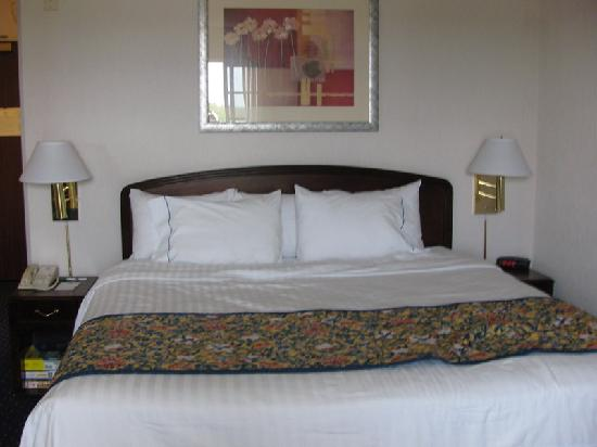 Courtyard by Marriott Portland North Harbour: Comfy bed, great linens