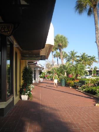 St. Armands Circle: Part of the strip