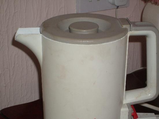 Plas Ifan Hotel & Restaurant: filthy kettle