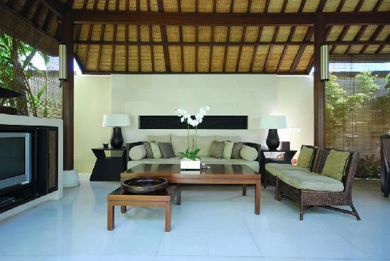 Villa Air Bali Boutique Resort & Spa: Living area