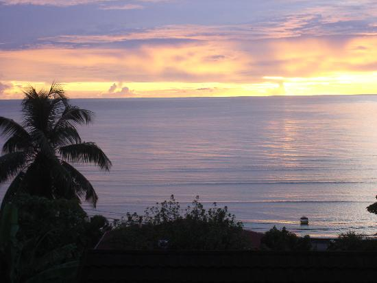 Mare Anglaise, Seychelles: Not a bad view from your front door..