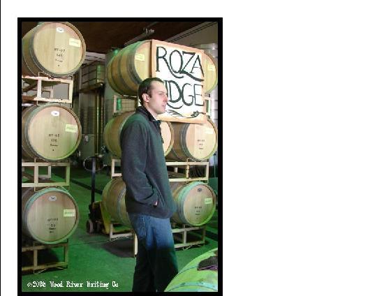 Hyatt Vineyards: Wine Barrels at Hyatt Winery