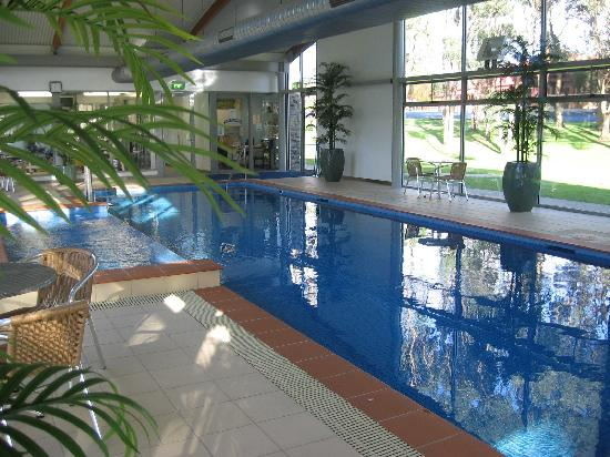 Smithton, Australia: Wonderful indoor heated pool and spa