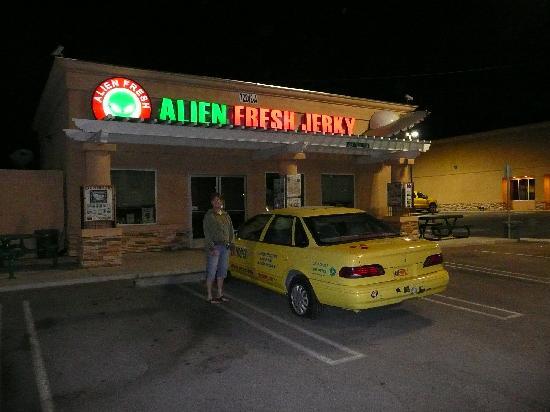 Santa Fe Motel: Alien Beef Jerky--Baker CA.