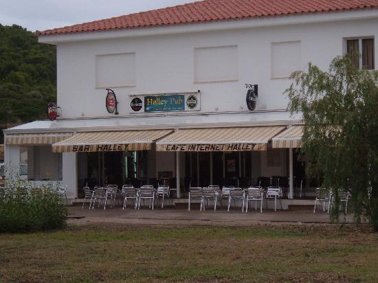 Santo Tomas, Spagna: Bar Halley internet cafe