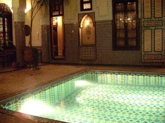 Riad Fes Baraka: Pool