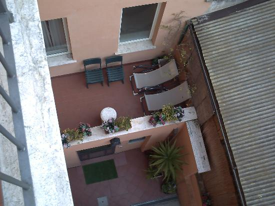 Hotel Novecento: Vistas desde arriba