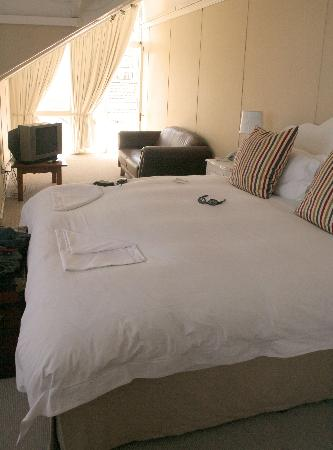 Our large & lovely bedroom at Blackheath Lodge