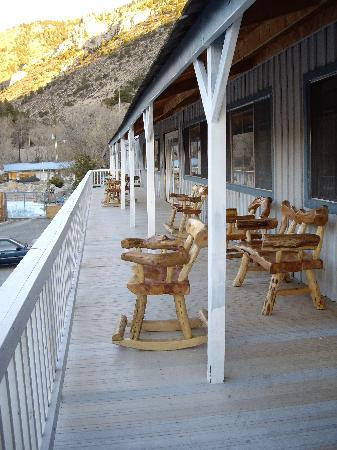 Cottonwood Hot Springs Inn & Health Spa: Balcony