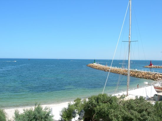 Port El Kantaoui, Tunus: trés belle vue