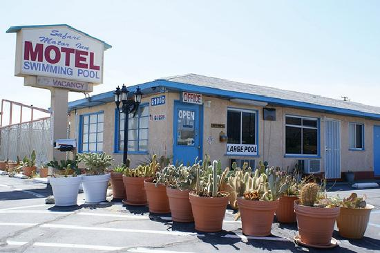 Safari Motor Inn - Joshua Tree: Front of motel