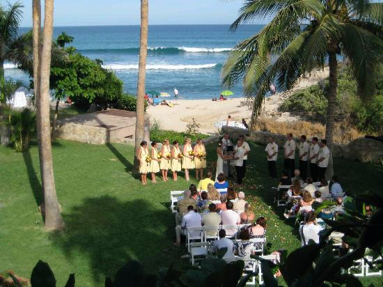 Cabo Surf Hotel Wedding Seen From Balcony Room 5