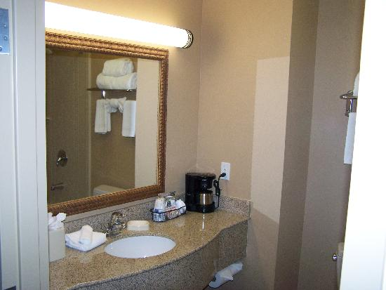Hampton Inn & Suites Hemet : Bathroom