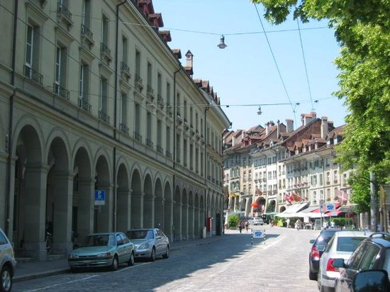 Downtown area of Bern Picture of Canton of Bern Switzerland