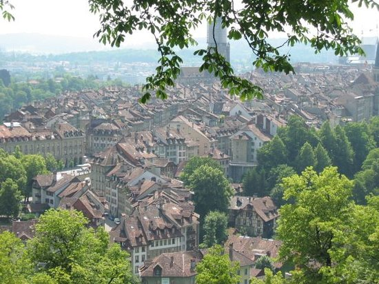 Bern from the Rose Garden view point Picture of Canton of Bern