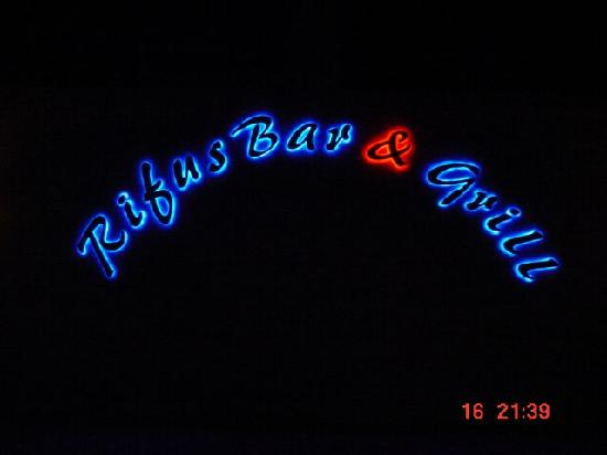 Hotel South Beach Resort Dar Es Salaam: Beautiful Neon Sign Late at Night