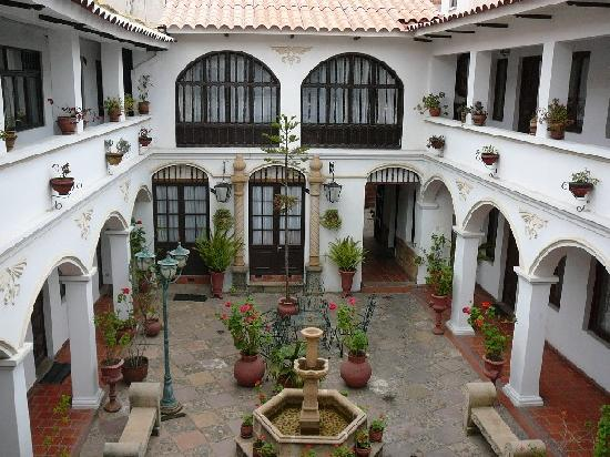 Hostal Sucre : Inside