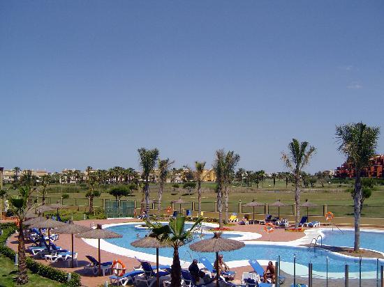 Elba Costa Ballena Beach Hotel: Vistas desde la terraza de la habitación