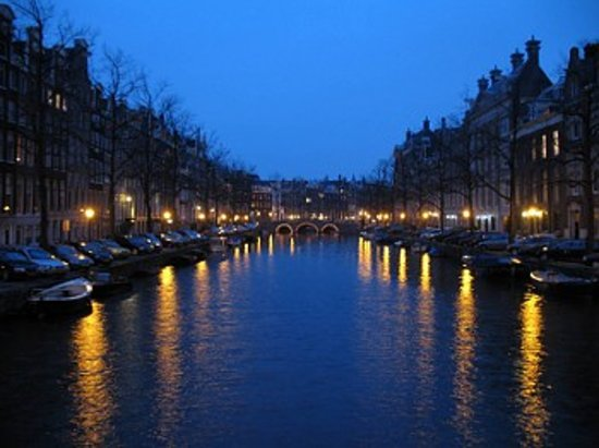Belanda: Amsterdam at Night