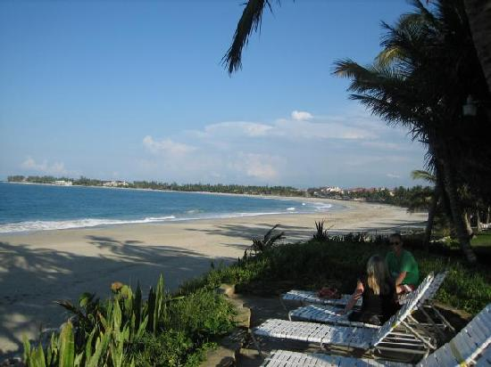 Cabarete Beach House at Nanny Estates: This is the beach in front.