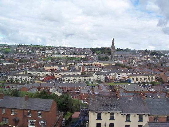 Nordirland, UK: The Bogside of Derry