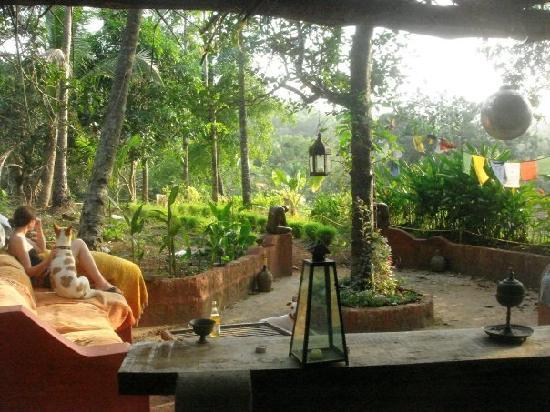 Casa Susegad : hidden Jopery bar area, great views for sunset!