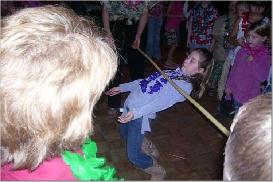 Schuss Village-Shanty Creek Resorts: new years party limbo
