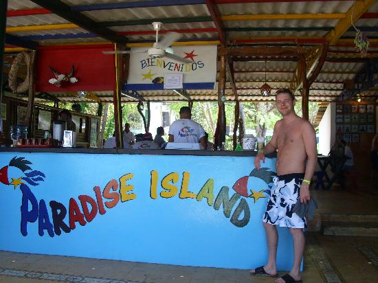 Paradise Island & The Mangroves (Cayo Arena): Punta Risa ~ lunch stop