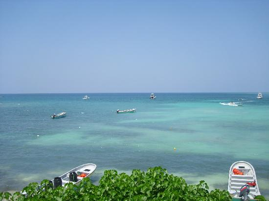Paradise Island & The Mangroves (Cayo Arena): beautiful view from lunch